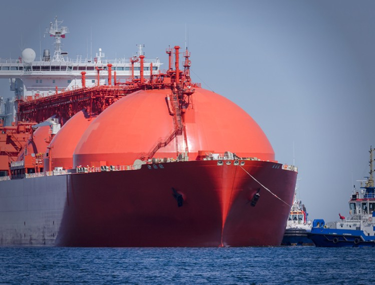 Gas Tanker Ship Image Text