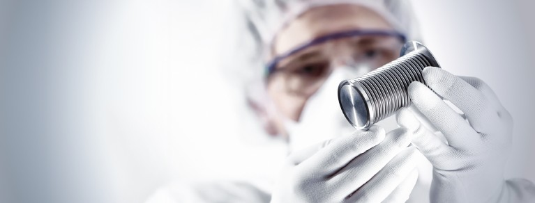 Quality Check Bellow Cleanroom Header